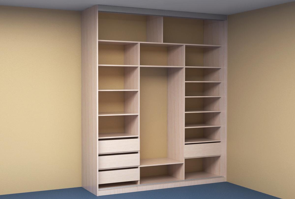 встроенный шкаф купе в спальню Kupe72ru
